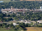 Creston from the air