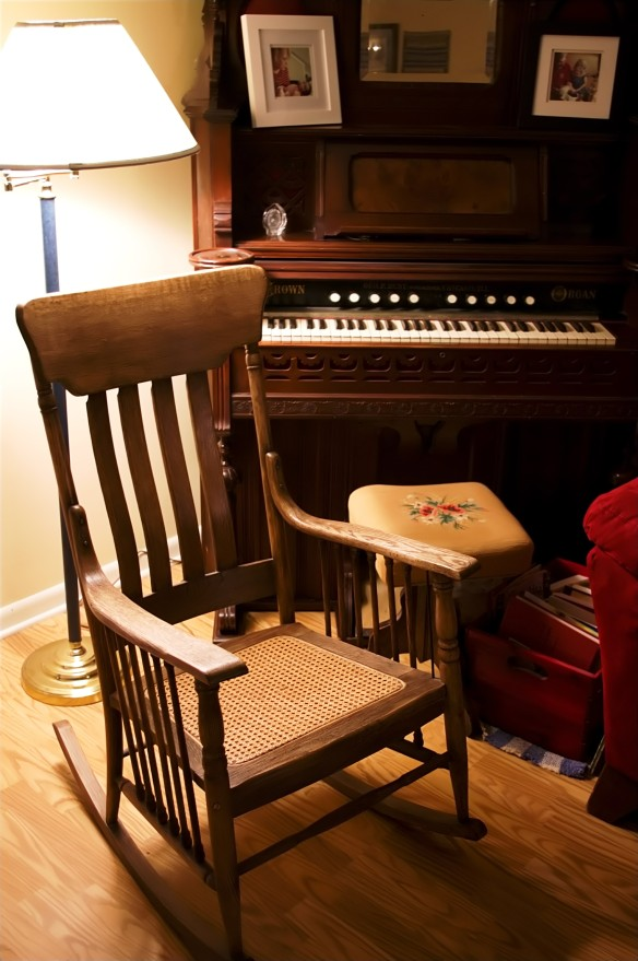 Grandma Samuel's Organ and Rocker