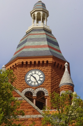 Old Red Museum Clock Tower