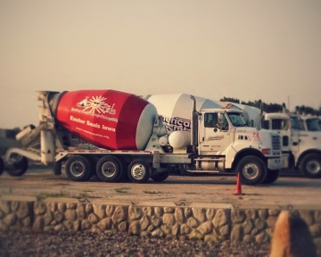 Civic-Minded Concrete Truck: Easter Seals Iowa