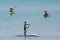 "My ""kids"" kayaking and paddleboarding"