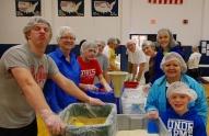 "Crest Baptist Church team (always a ""ham"" in the group)."