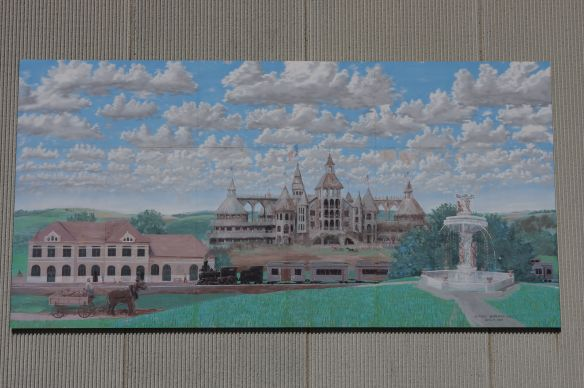 Blue Grass Palace 12'x24', 2002, on the YMCA by Carl Homstad