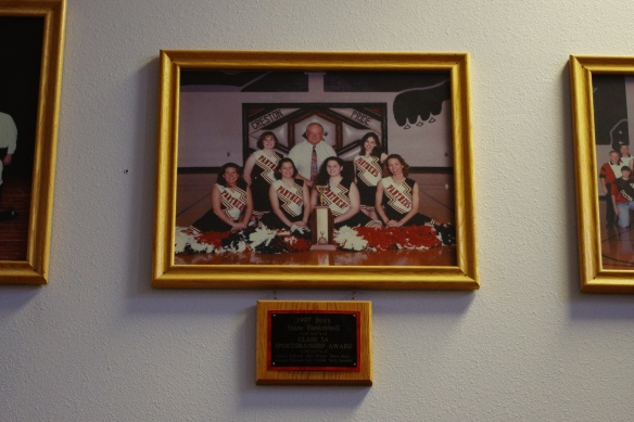 Creston High School Wall of Fame - 1997 3A State Basketball Sportsmanship Award